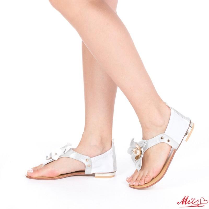 Sandale Dama WH997 White Mei