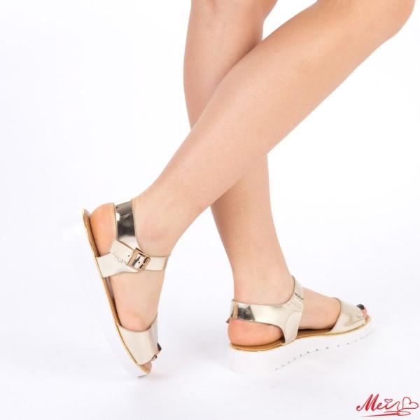 Sandale Dama WS32 Gold Mei