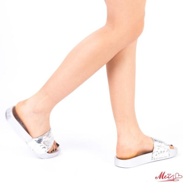 Papuci Dama WS63 Silver Mei
