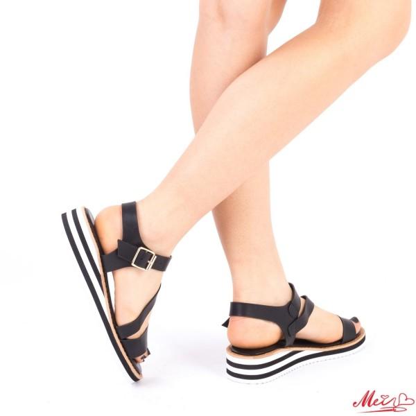 Sandale Dama WS78 Black Mei
