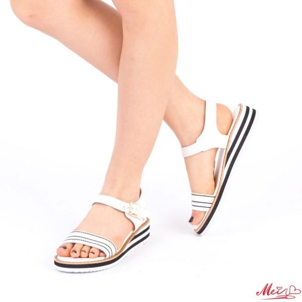 Sandale Dama WS79 White Mei