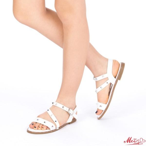 Sandale Dama WS80 White Mei