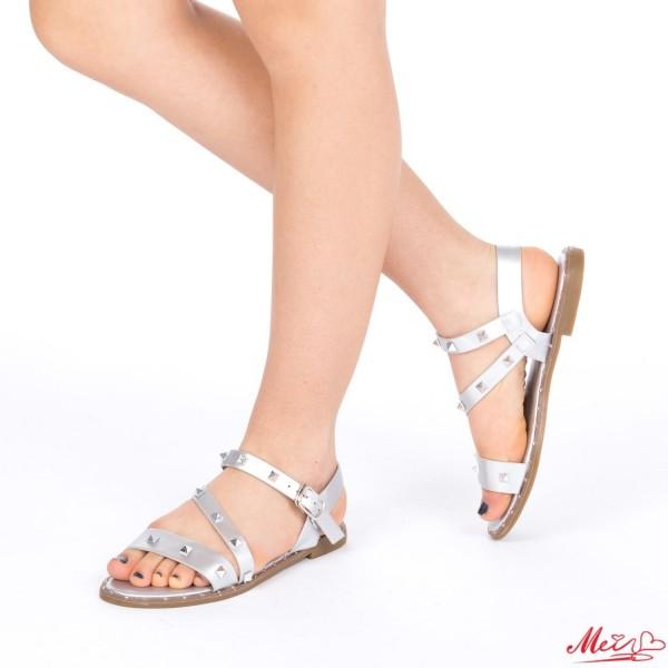 Sandale Dama WS80 Silver Mei