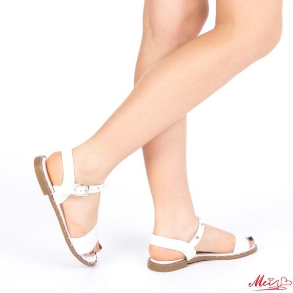 Sandale Dama WS81 White Mei