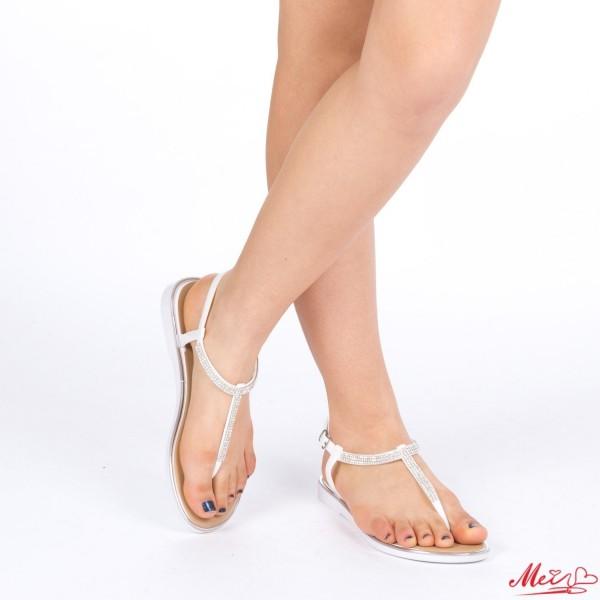 Sandale Dama WS83 White Mei