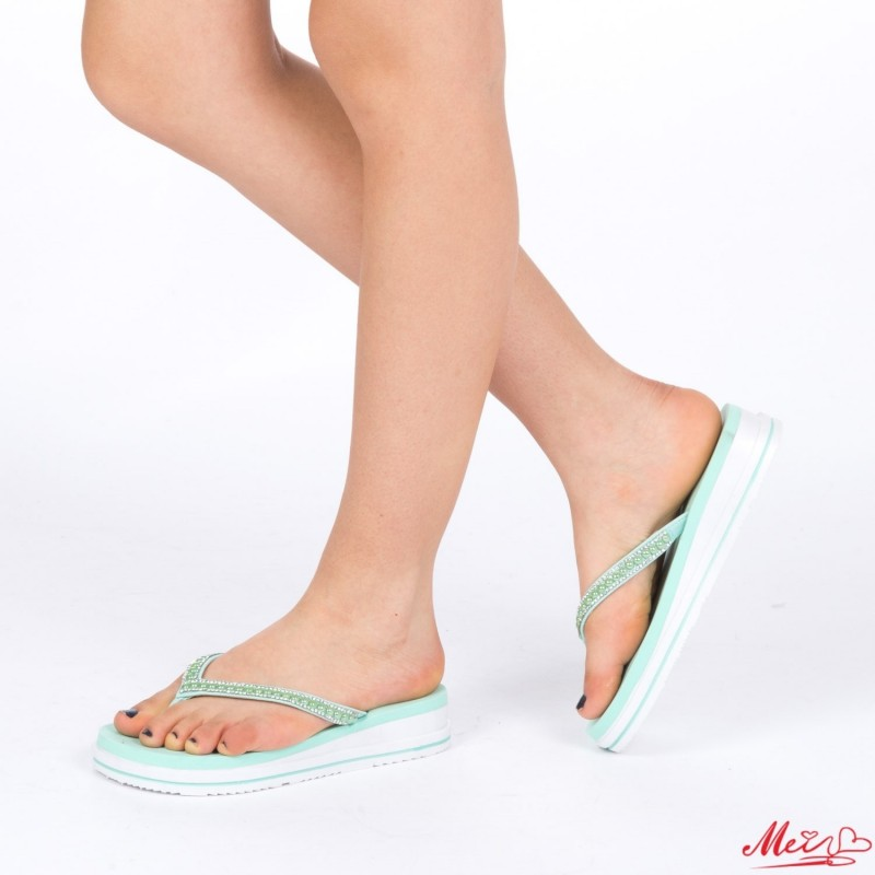 Papuci Dama WS85 Green Mei