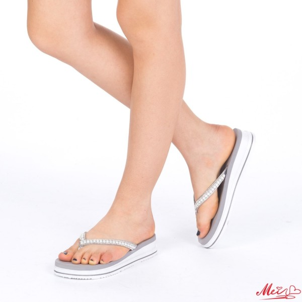 Papuci Dama WS85 Grey Mei