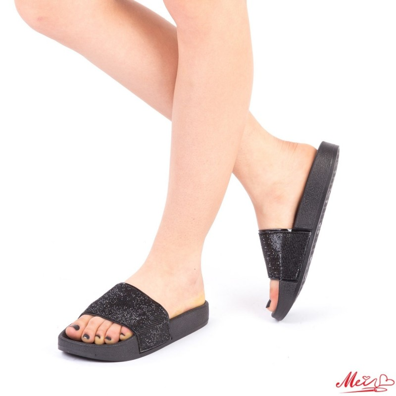 Papuci Dama WS86 Black Mei