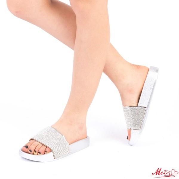 Papuci Dama WS86 Silver Mei