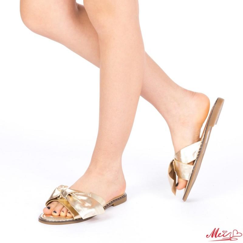 Papuci Dama WS87 Gold Mei