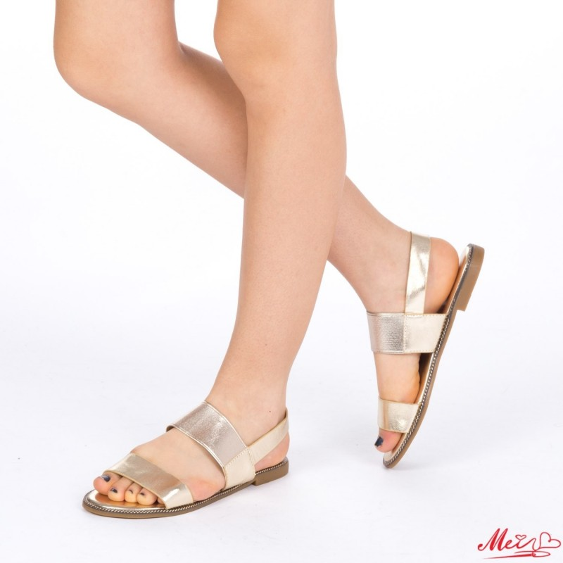Sandale Dama WS89 Gold Mei