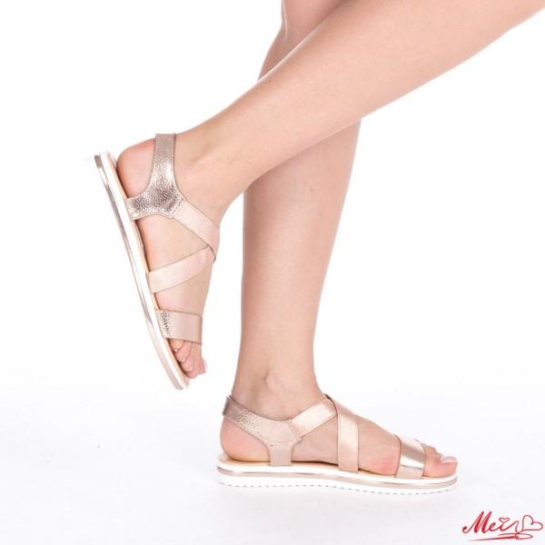 Sandale Dama WT156 Champagne Mei