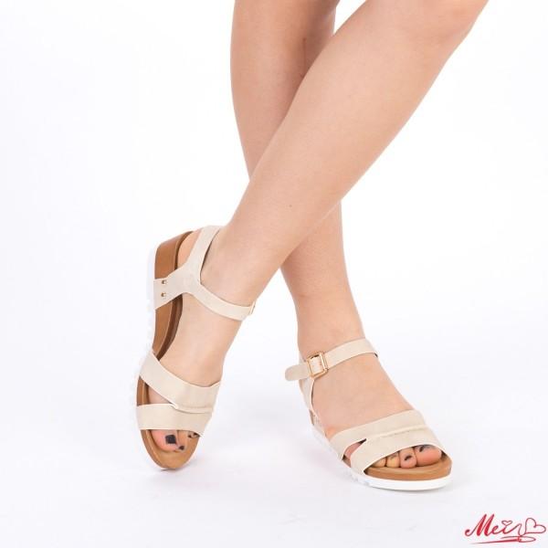 Sandale Dama WT163 Beige Mei