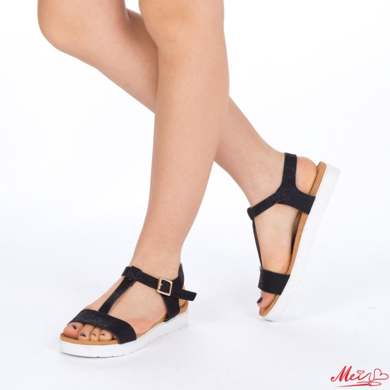 Sandale Dama WT19 Black Mei