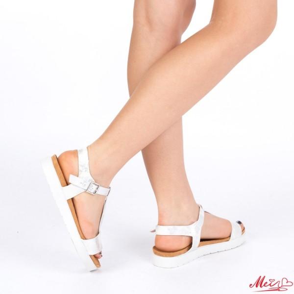 Sandale Dama WT19 White Mei