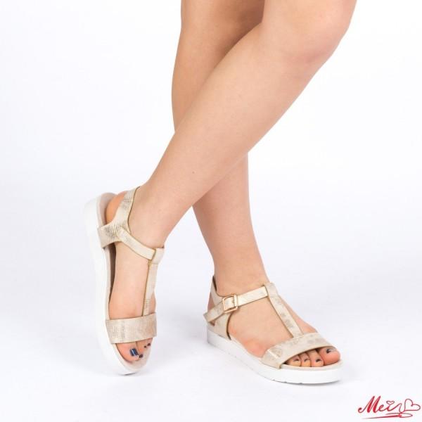 Sandale Dama WT19 Gold Mei