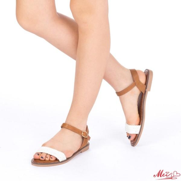 Sandale Dama WT20 White Mei