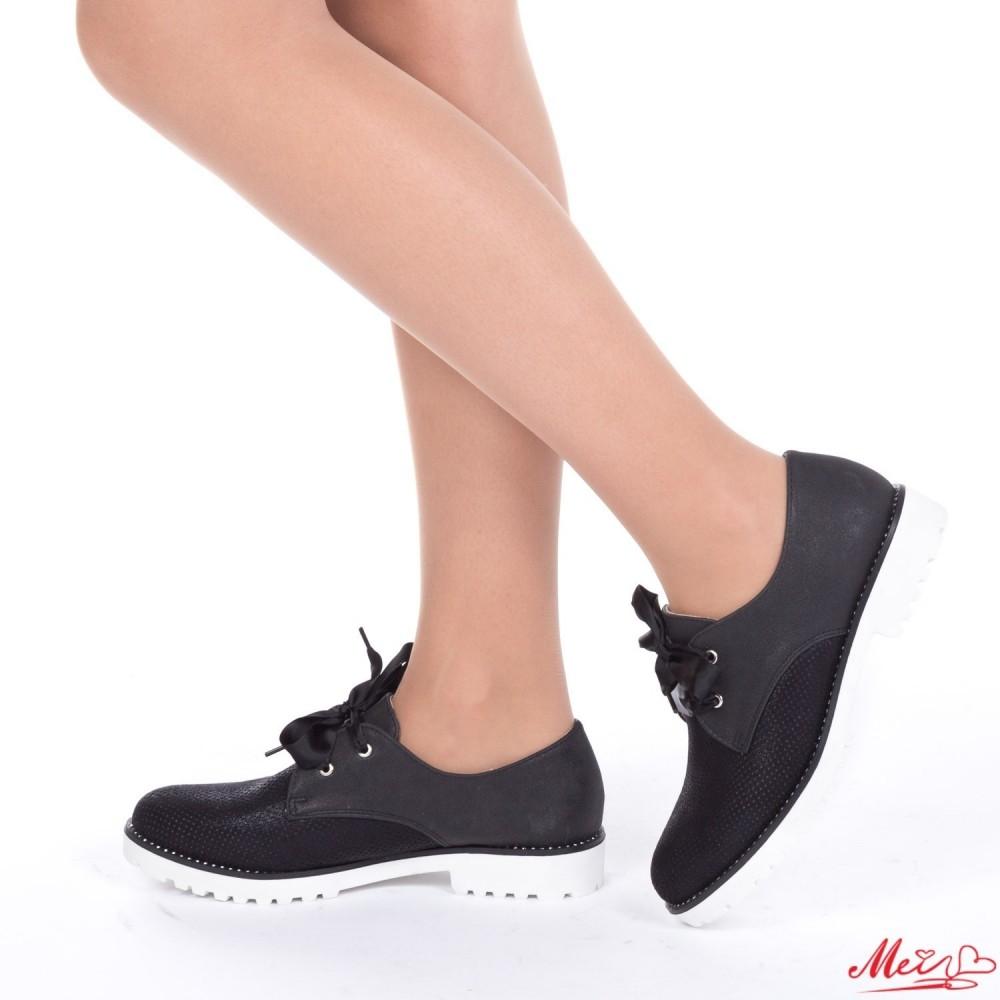 Pantofi Casual Dama WT37 Black Mei