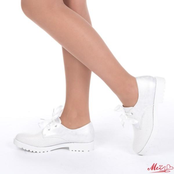 Pantofi Casual Dama WT37 White Mei