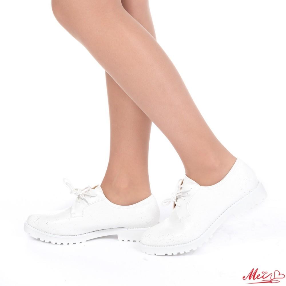 Pantofi Casual Dama WT38 White Mei