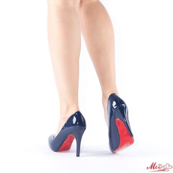 Pantofi cu Toc WT70 Blue Mei