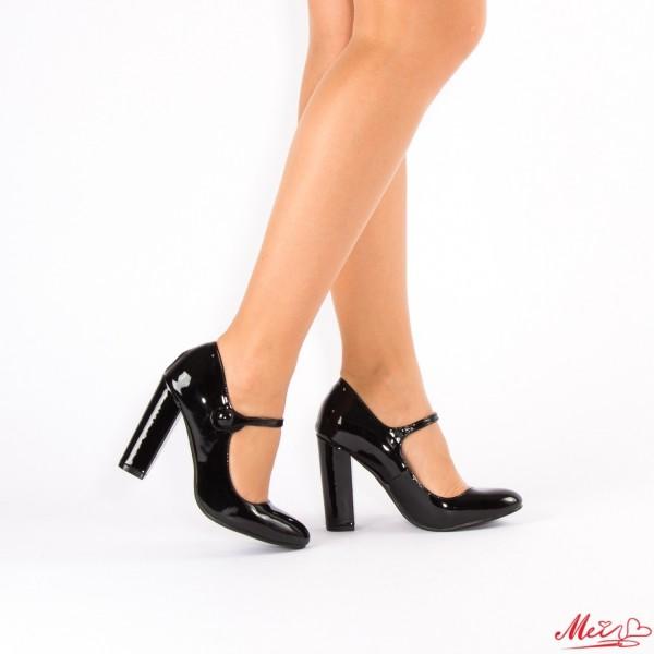 Pantofi cu Toc XD17 Black Mei
