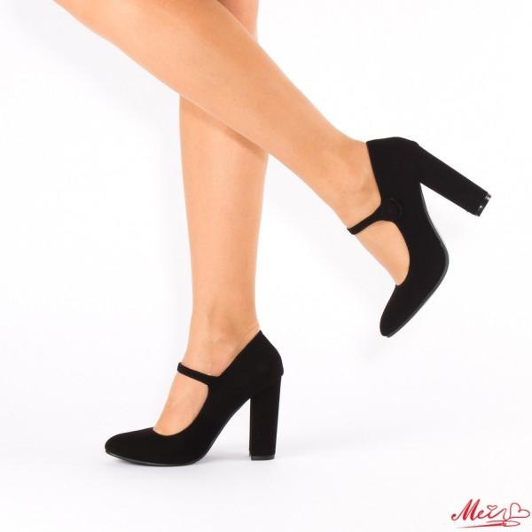 Pantofi cu Toc XD18 Black Mei
