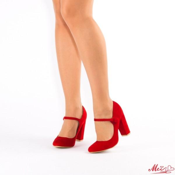 Pantofi cu Toc XD18 Red Mei