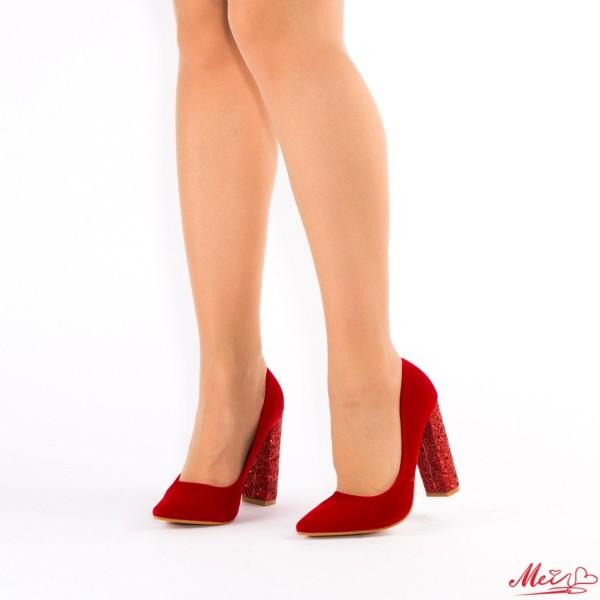 Pantofi cu Toc XD30 Red Mei