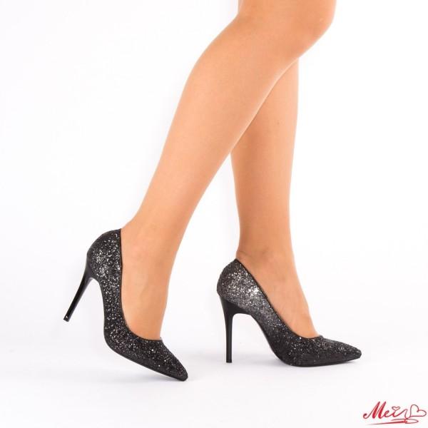 Pantofi cu Toc XD32 Black Mei