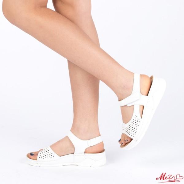 Sandale Dama XD78 White Mei