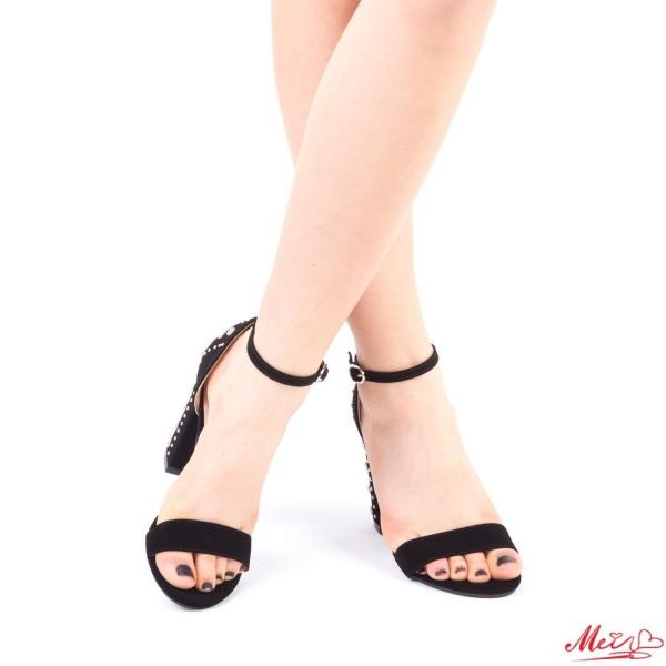 Sandale Dama cu Toc XKK108 Black Mei