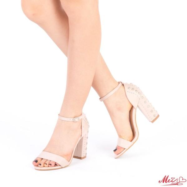 Sandale Dama cu Toc XKK108 Pink Mei