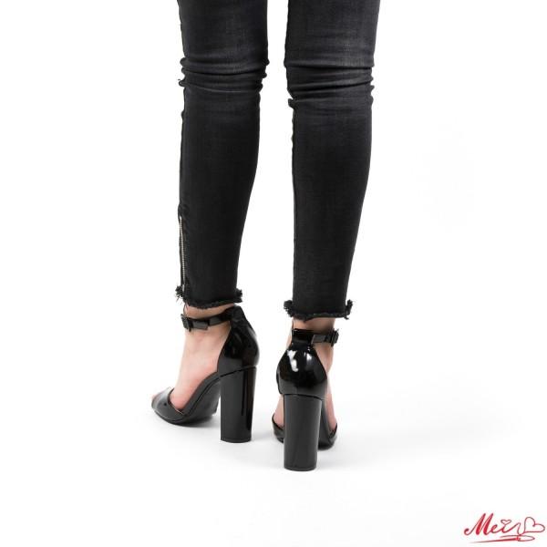 Sandale Dama cu Toc XKK18 Black Mei