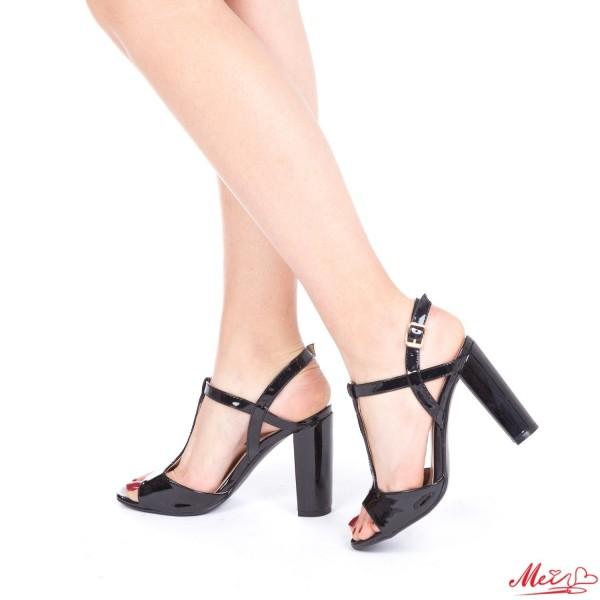 Sandale Dama cu Toc XKK20 Black Mei