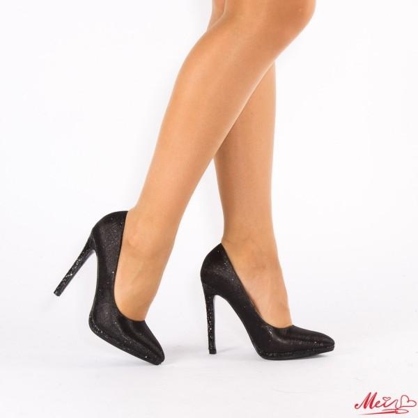 Pantofi cu Toc XKK67 Black Mei