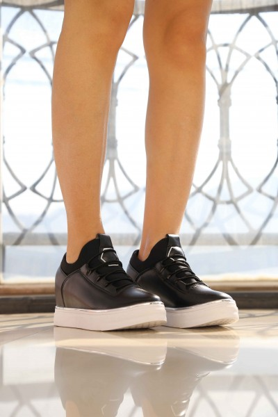 Pantofi Sport Dama cu Platforma XT3 Black Mei