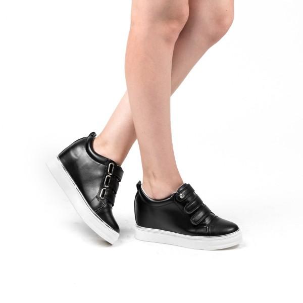 Pantofi Sport Dama cu Platforma XT5 Black Mei