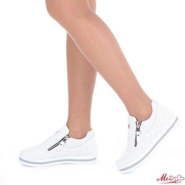 Pantofi Sport Dama XY8 White Mei