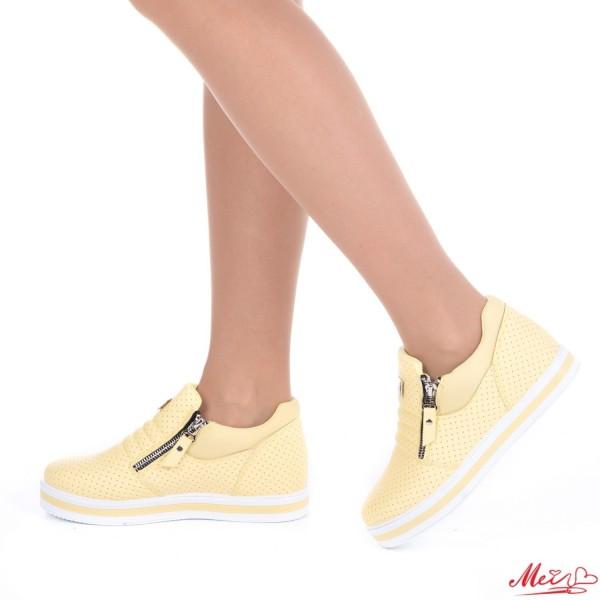 Pantofi Sport Dama XY8 Yellow Mei