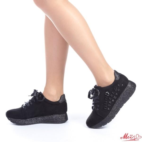 Pantofi Sport Dama YBS15 Black Mei