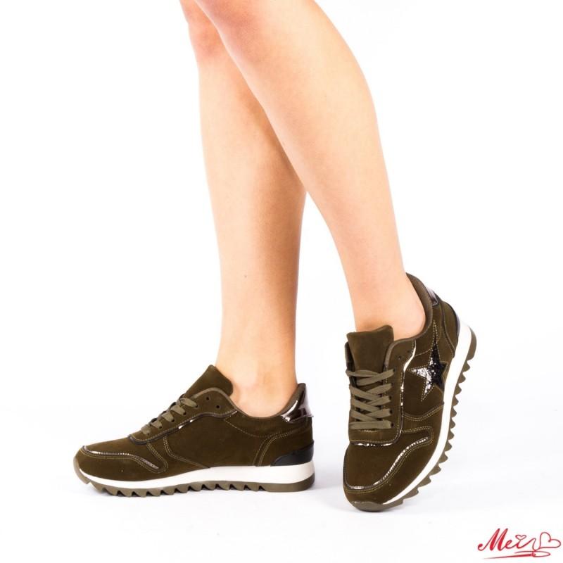 Pantofi Sport Dama YKQ5 Green Mei