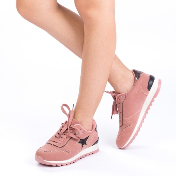 Pantofi Sport Dama YKQ5 Pink Mei