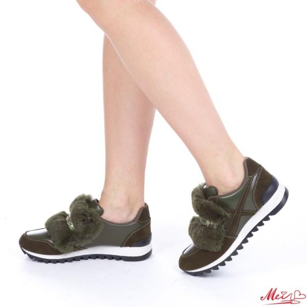 Pantofi Sport Dama YKQ6 Army Green Mei