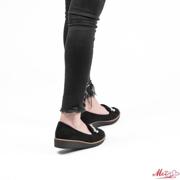 Pantofi Casual Dama YT03 Black Mei
