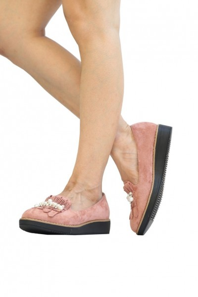 Pantofi Casual Dama YT03 Pink Mei