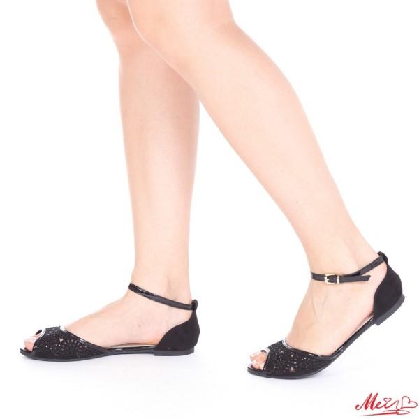 Sandale Dama YT37 Black Mei