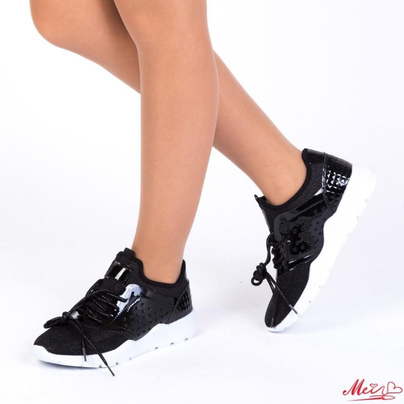 Pantofi Sport Dama ZJY-3# Black Mei