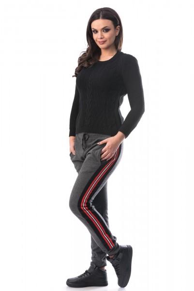Pantalon 6251-2 Gri inchis Mei