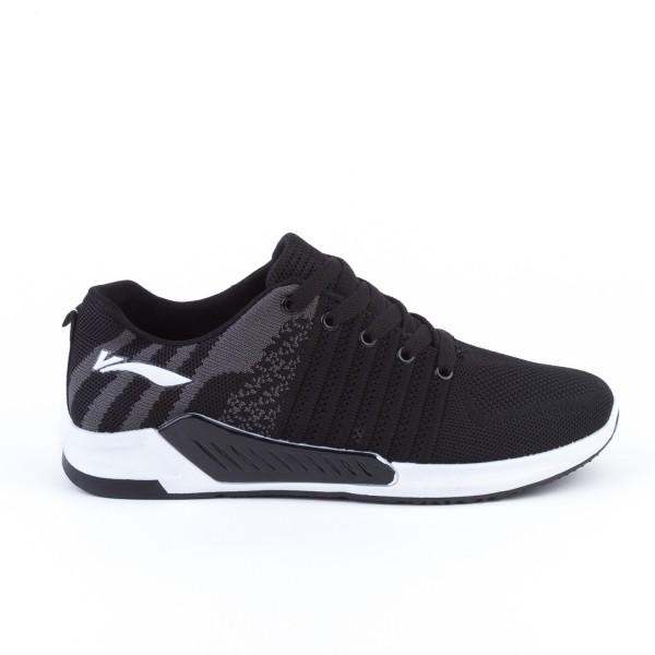 Pantofi Sport Barbati 205-1& Black-Grey Mei